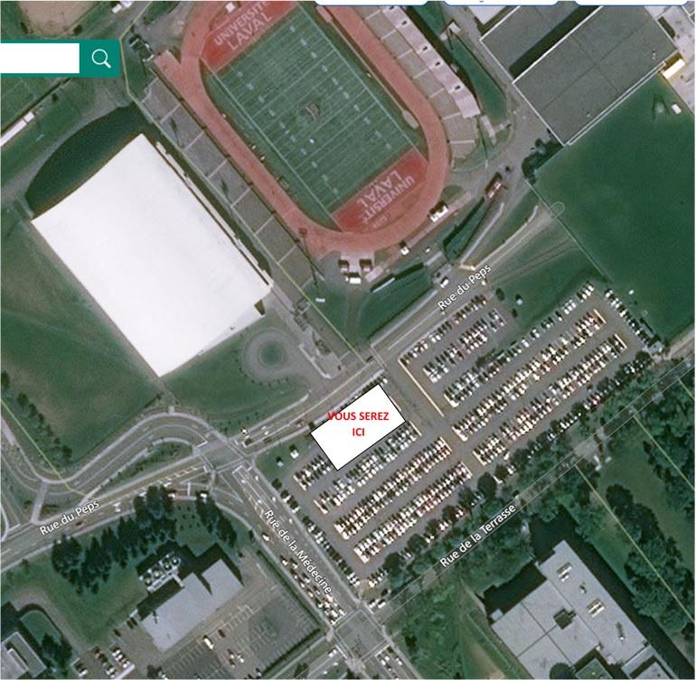 La photo est à titre indicatif. Votre emplacement vous sera confirmé la semaine du match avec un plan plus précis.