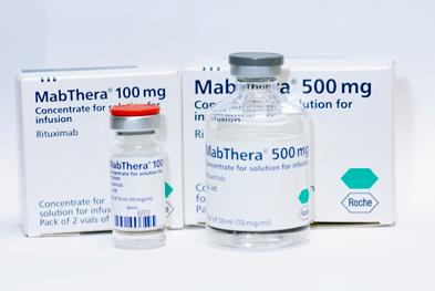 Mabthera 100mg and Mabthera 500mg precio en México