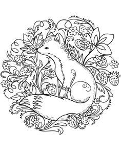 A squirrel valentine coloring page