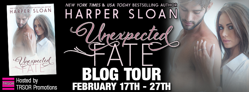 Blog Tour + Review + Giveaway + Excerpt // Unexpected Fate by Harper Sloan