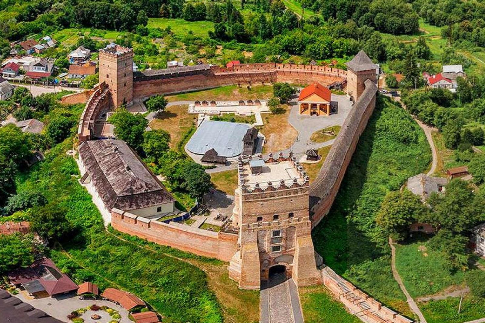 Замок Любарта – одна из достопримечательностей Волынской области