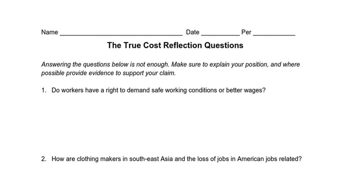 questions on working conditions Interview questions a free inside look at working conditions interview questions and process details for other companies - all posted anonymously by interview candidates.