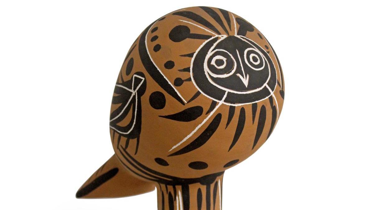 Oeuvre Le Hibou de Pablo Picasso, 1953