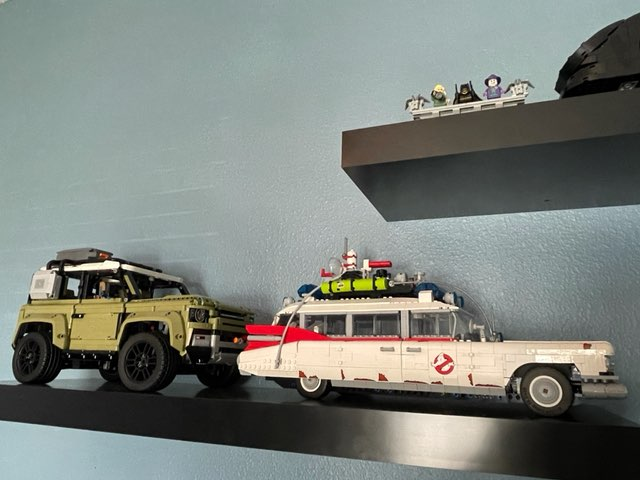 Veteran stays busy with elaborate LEGO builds
