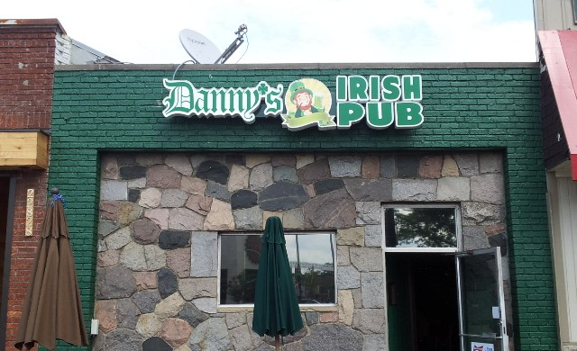 Danny's Irish Pub LED Channel Letters