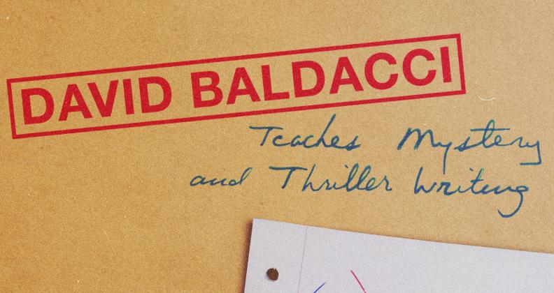 David Baldacci's Masterclass
