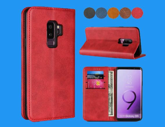 SailorTech Premium PU Leather wallet cardholder Galaxy S9 case