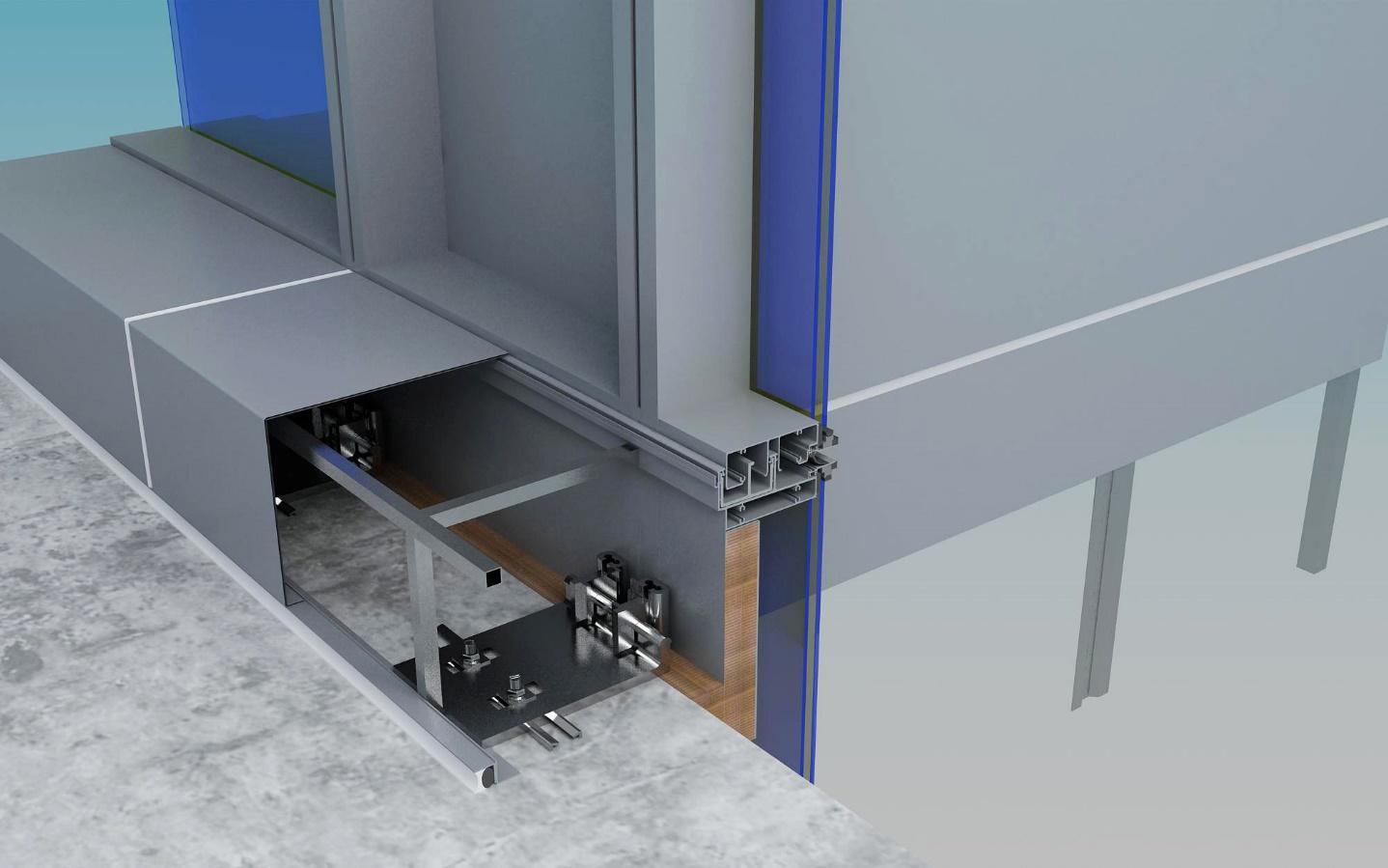 Giới thiệu hệ mặt dựng nhôm kính Unitized cho nhà cao tầng