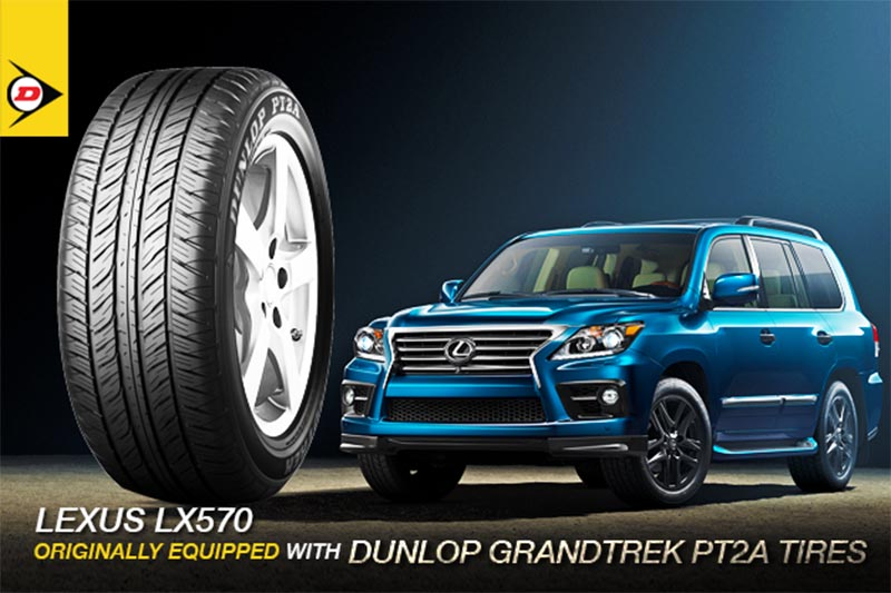 Lốp Dunlop Grandtrek PT2A - Sử dụng cho các dòng xe sang