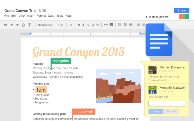 Google Docs - Chrome Web Store