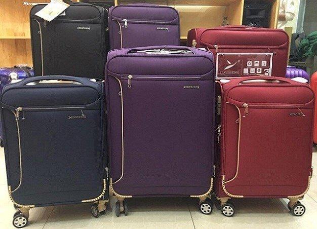 Vali vải nhẹ nhàng, tiện dụng