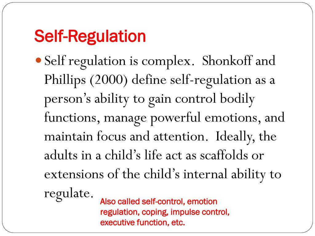 Preparing Teens for College and Career Success Through Self-Regulation -  ppt download