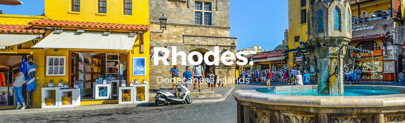 Rhodes historic town