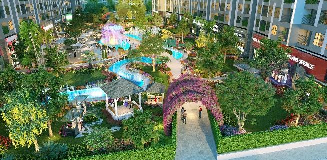 Có gì độc đáo và khác lạ trong thiết kế của dự án Imperia Sky Garden