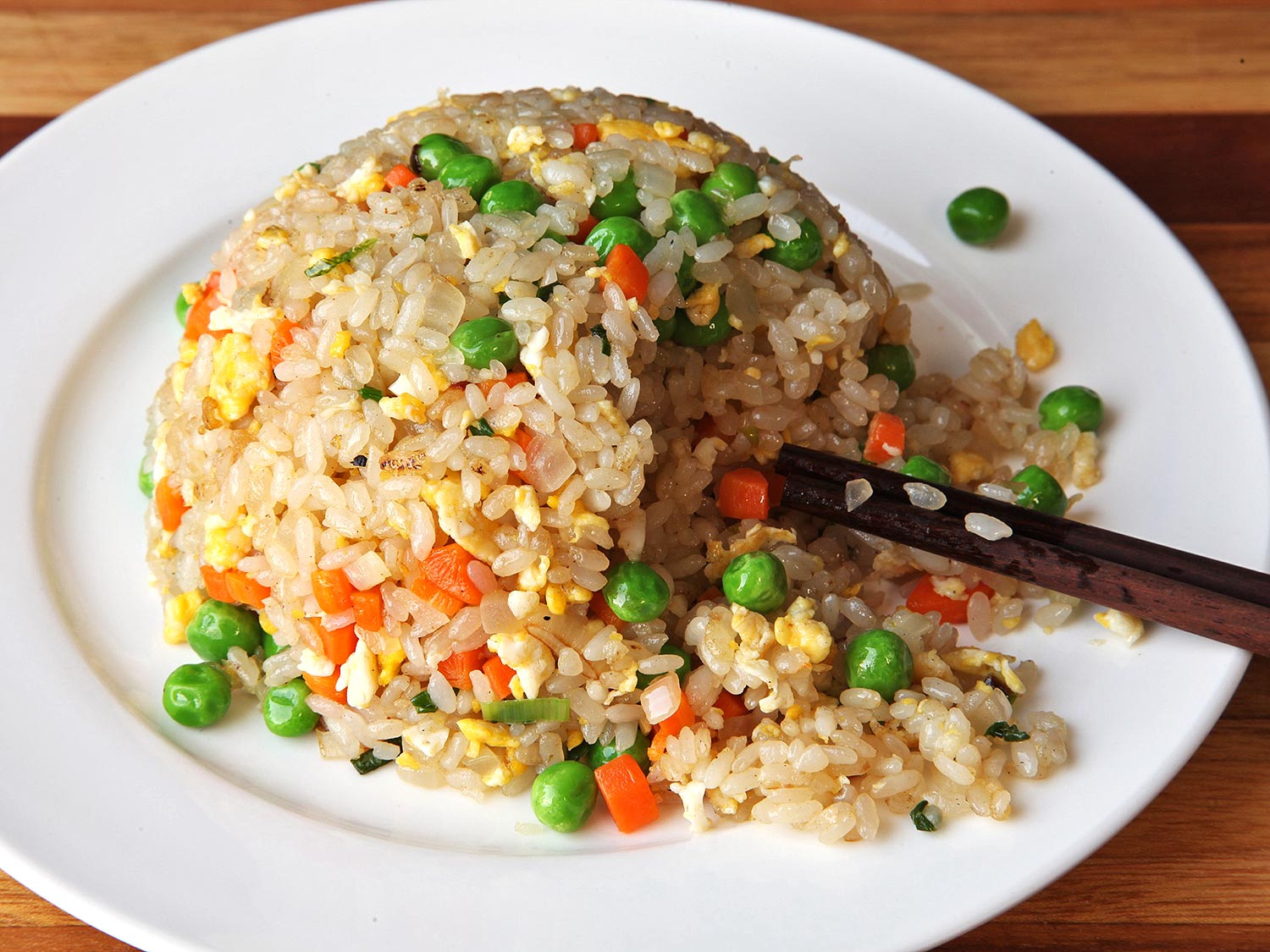 Chinese fried rice in Bali