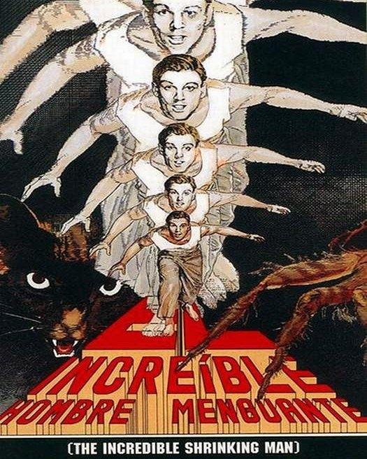 El increíble hombre menguante (1957, Jack Arnold)