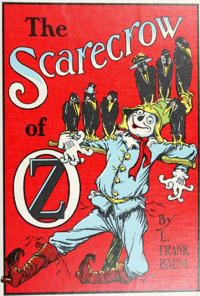 Image result for public domain Scarecrow oz