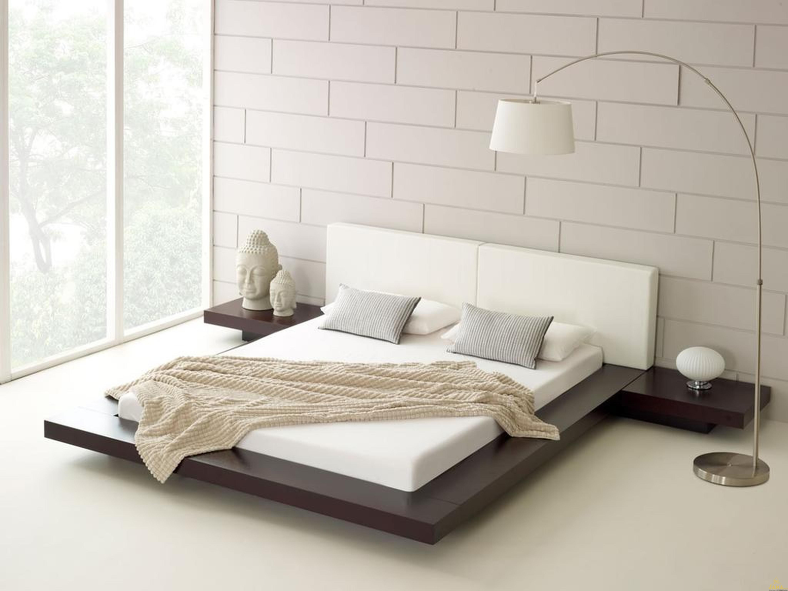 Giường ngủ gỗ kiểu Nhật