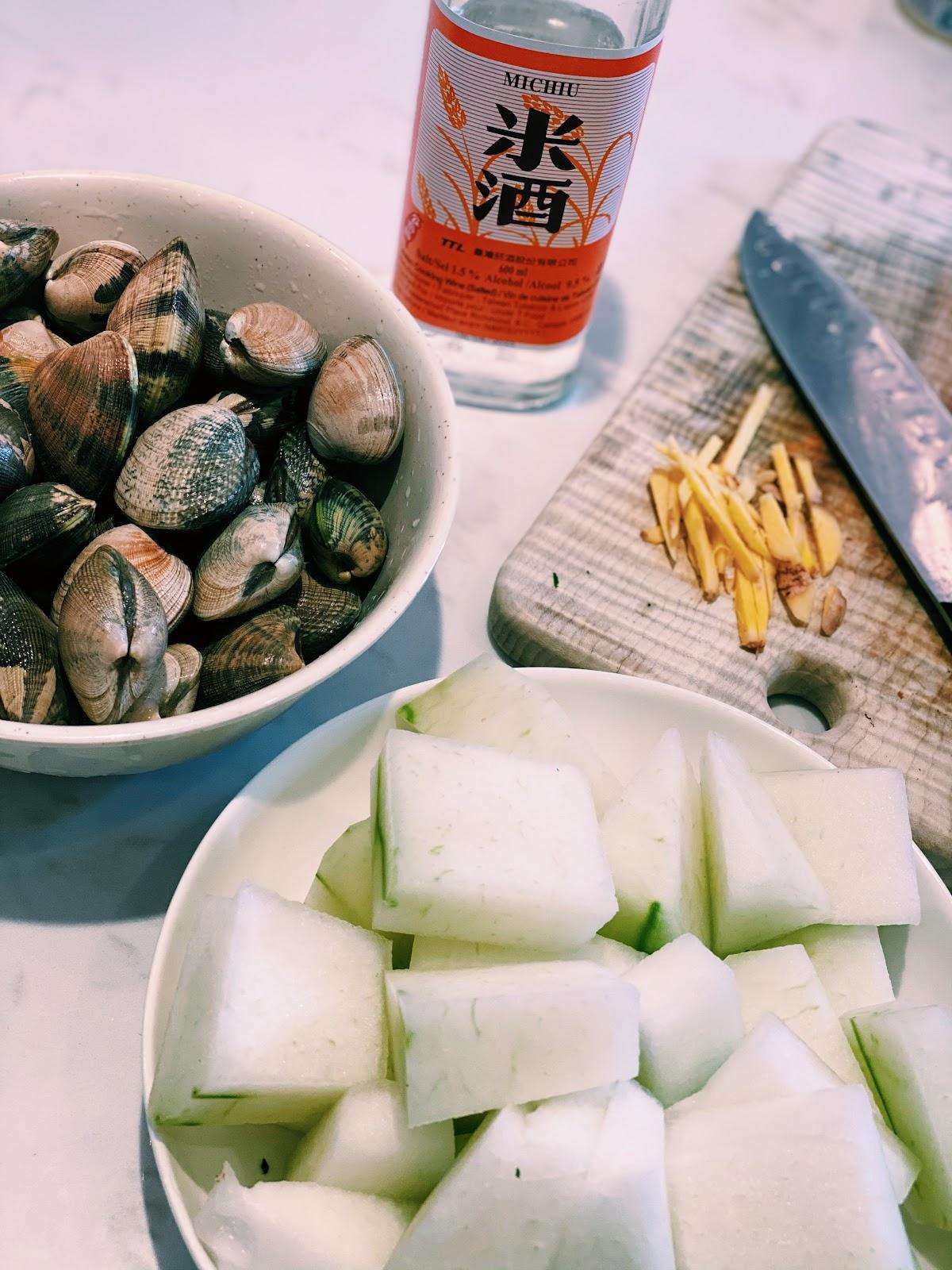 Winter Melon & Clam Soup