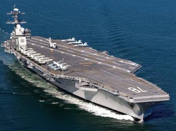 Hàng không mẫu hạm Mỹ USS Gerald R. Ford (usnavy.com)
