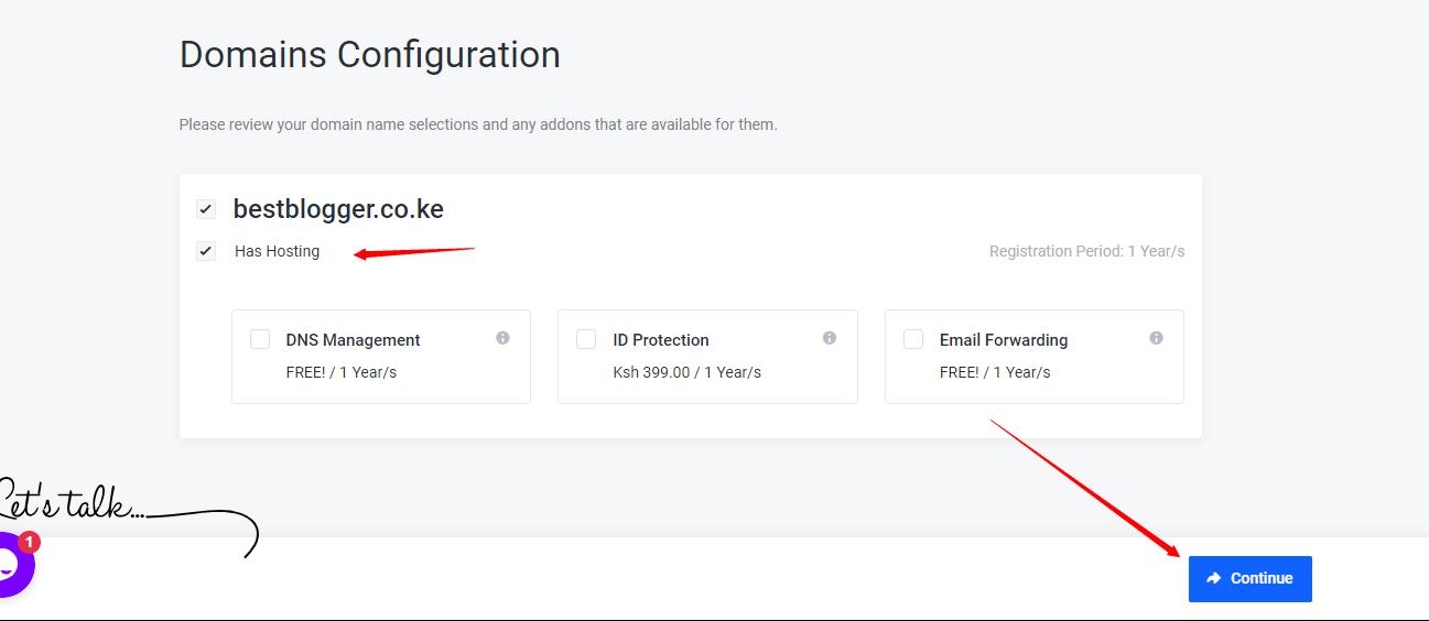 how to start a website in Kenya