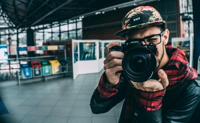 Photographe dans la rue