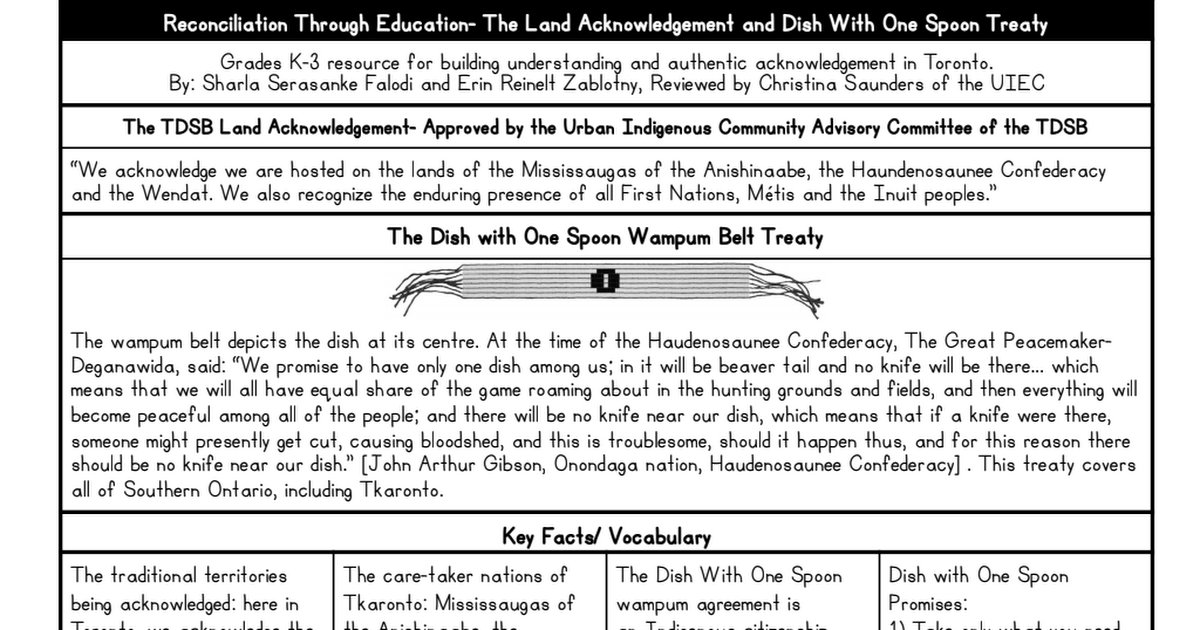 Land Acknowledgement and Dish With One Spoon Resource.pdf