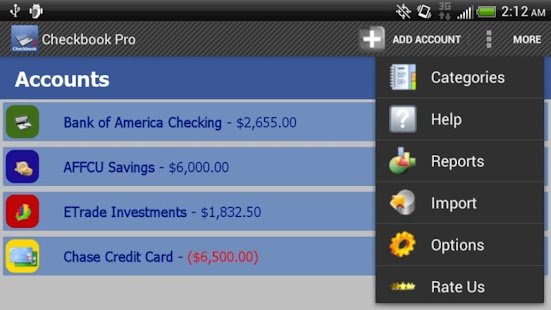 apk world of mobile: Checkbook Pro apk