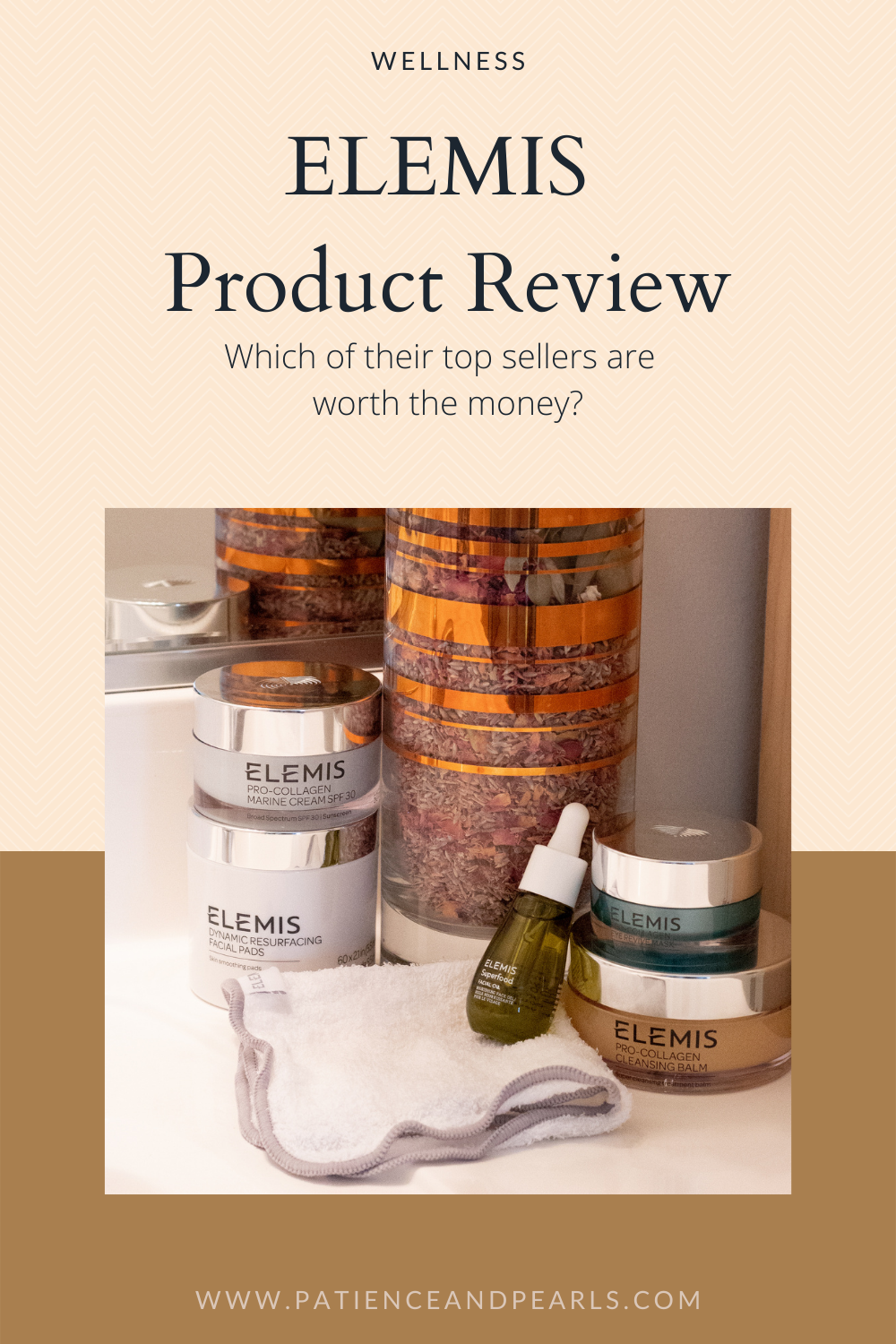 ELEMIS Skin Care Product Review - Patience & Pearls - Pinterest