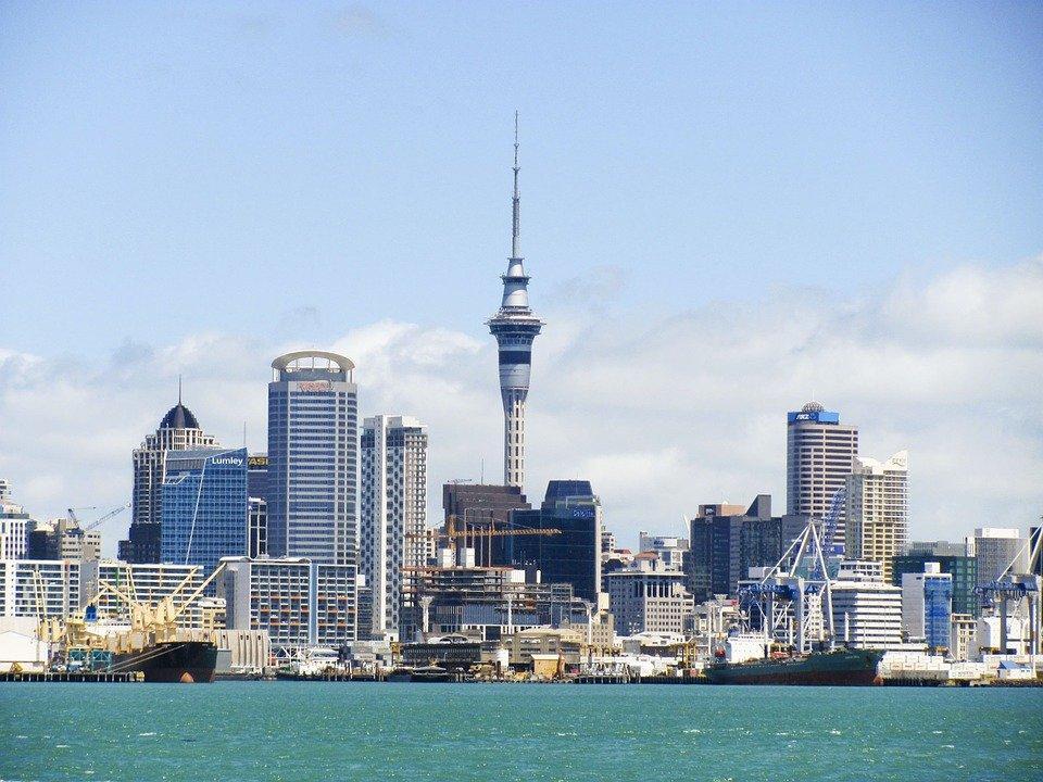New Zealand, Skyline, Auckland, Sky Tower, Tower, Kiwi