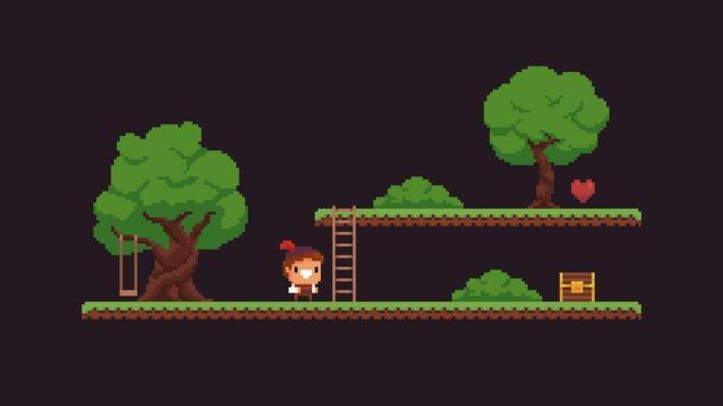 Видеоигры для старых приставок часто генерировали контент в режиме реального времени