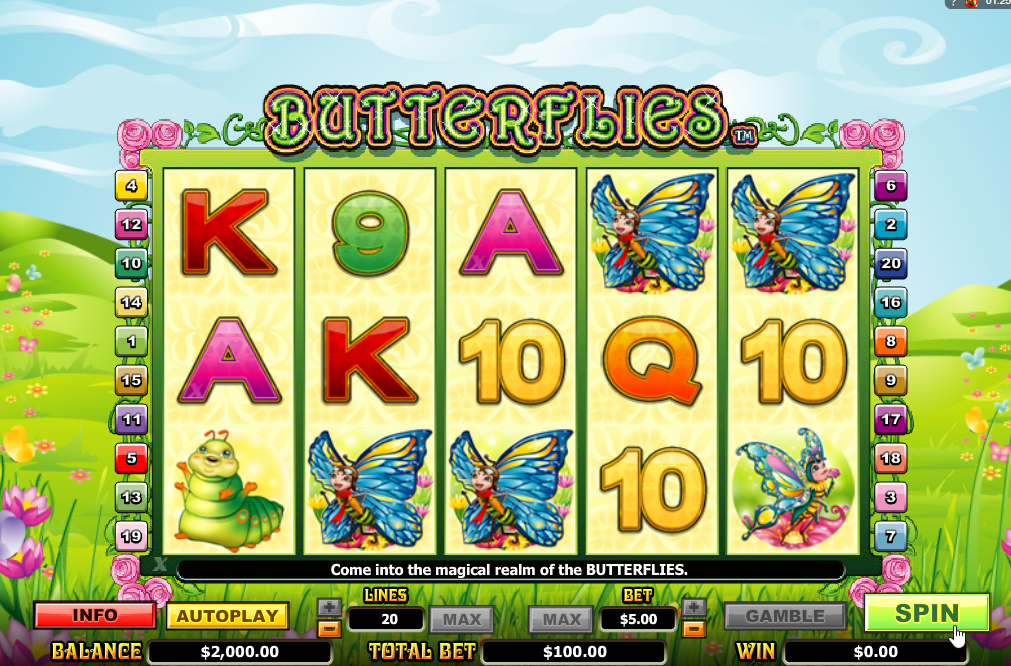 Butterflies Slots Game Review
