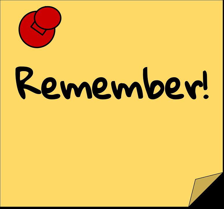 Reminder - Free images on Pixabay