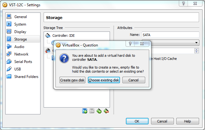 Add Disk Storage to Oracle Virtual Box on Linux -VitalSoftTech