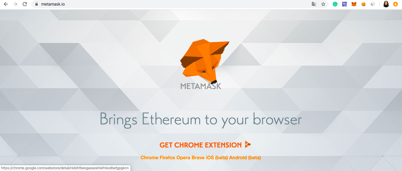 metamask website