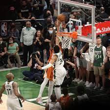 Giannis Antetokounmpo's block gave the Bucks a chance in the NBA Finals -  SBNation.com