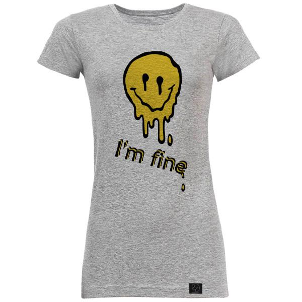 تونیک زنانه 27 مدل I am fine کد V32
