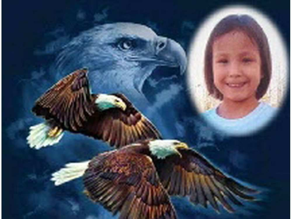 An image of Shalaina Arcand, from her funeral home obituary. She was five when she died in October 2015 from head trauma. It took 11 months for the medical examiner to complete her autopsy. Her mother was charged with second-degree murder a month after the medical examiner's report was sent to police.