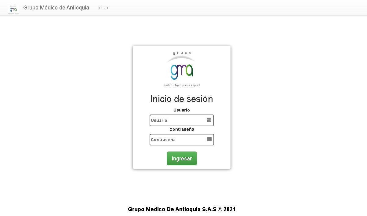 Descargar certificado de aptitud laboral en Grupo Médico de Antioquia