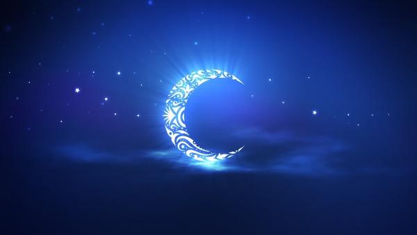 Ramadhan malam bulan sabit biru wallpaper Ramadhan 2014