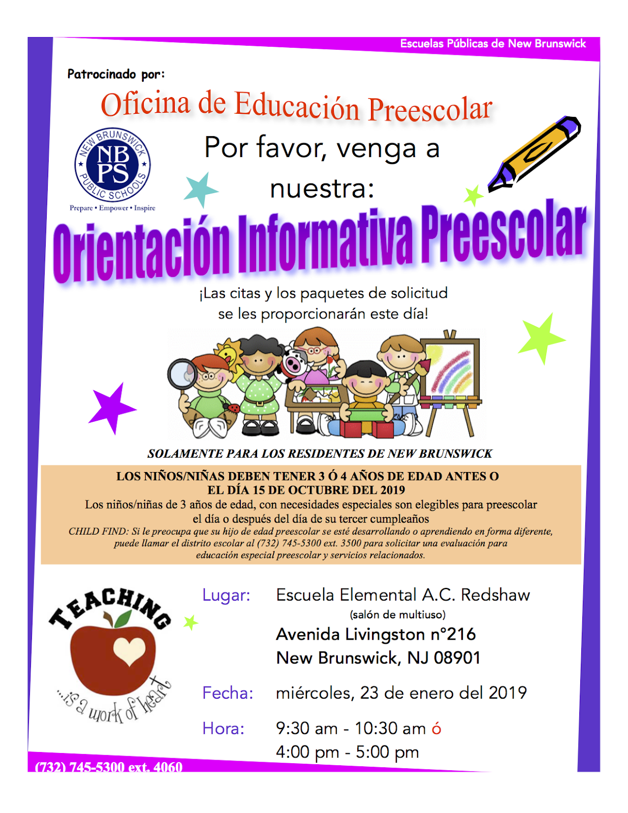 Early Childhood Flyer Link
