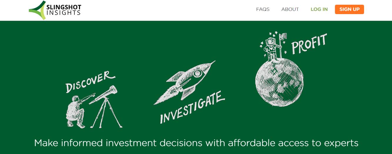 Slingshot Insights an online consulting platform