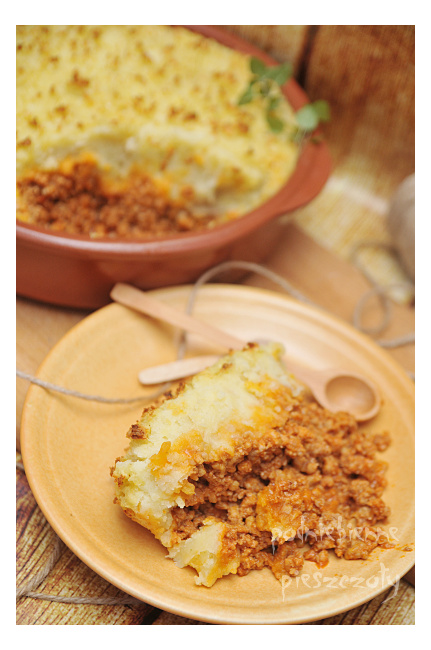 Wiejska zapiekanka - cottage pie