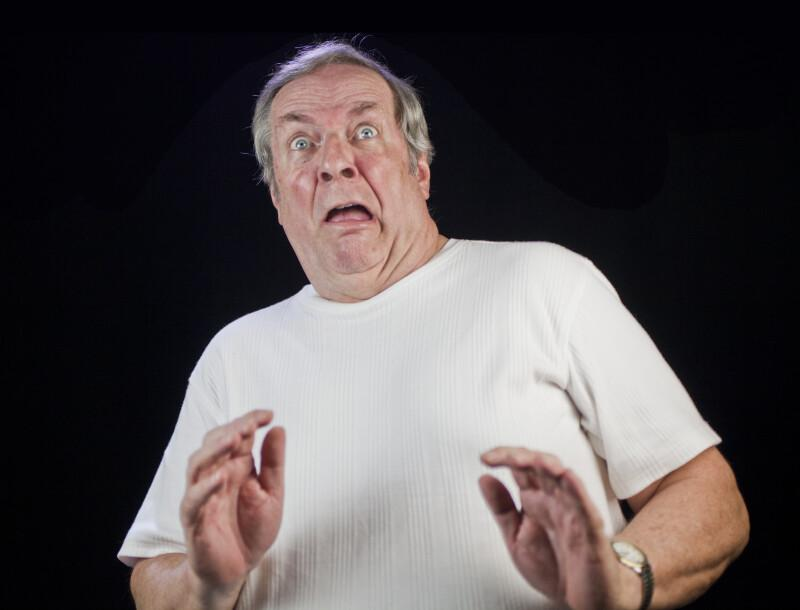 Frightened Facial Expression   ClipPix ETC: Educational Photos for Students and Teachers
