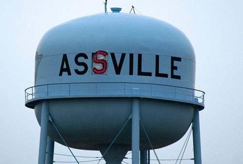 Assville sign