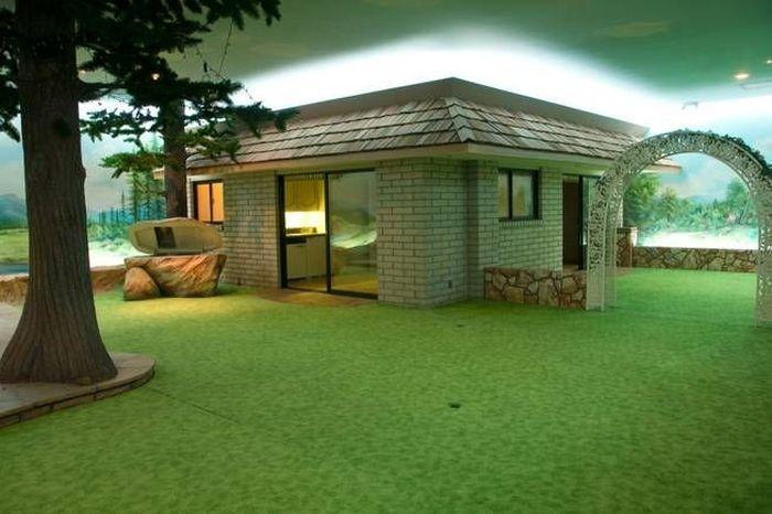 Dosis arquitectura una casa incre ble construida bajo - Casas bajo tierra ...