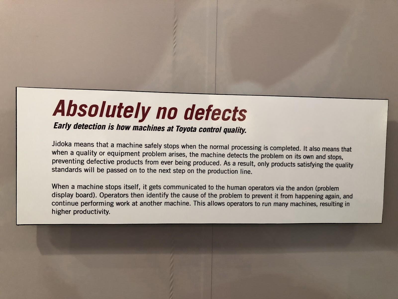 No Defects