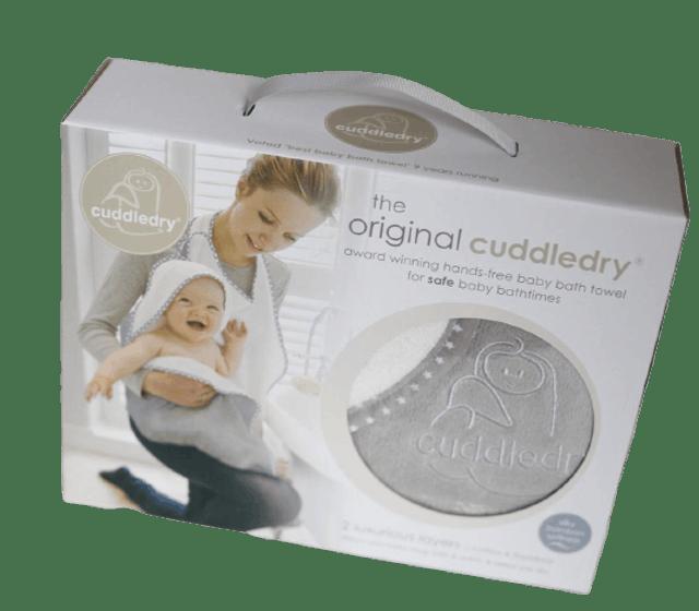 . ผ้าเช็ดตัวพรีเมี่ยมสำหรับทารก Cuddledry