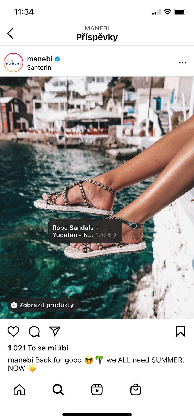 Reklama na sociálních sítích, online marketing, Instagram shopping, marketingová agentura.