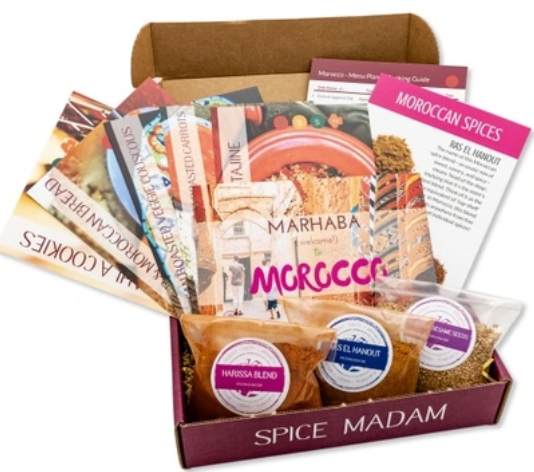 gift ideas for foodies and cooks spices subscription box